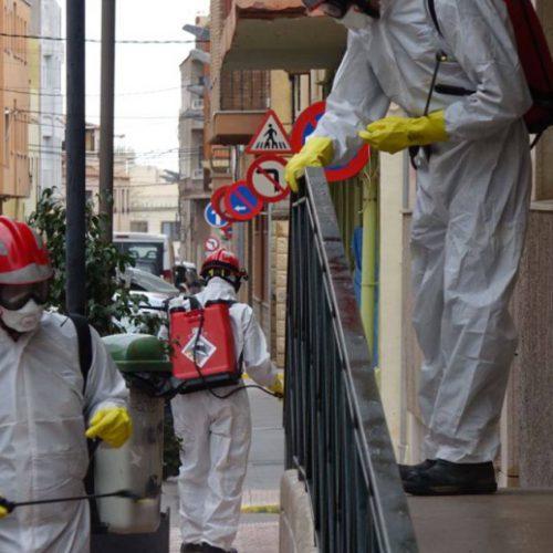 Comienzan las tareas de desinfección en los municipios contra la COVID-19
